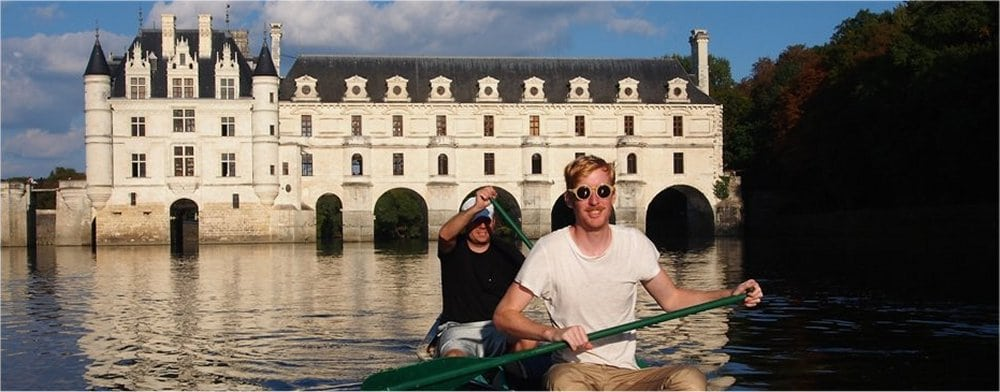 Tours: Canoing by Chenonceau