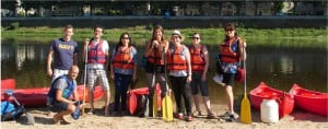 Tours: Canoing on the Loire