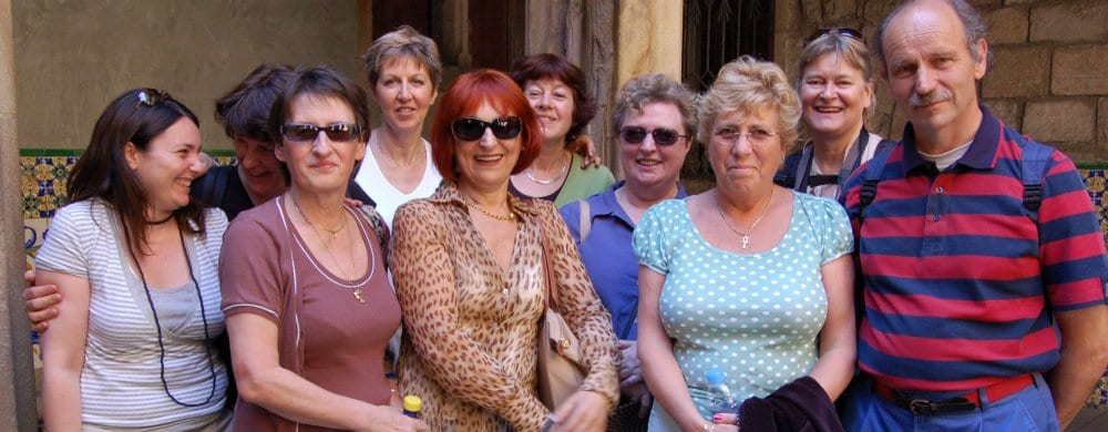 Barcelona: Over 50 group course