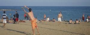 Barcelona: Frisbee