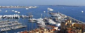 Cannes: View of the port