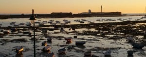 Cadiz: Boats on the water