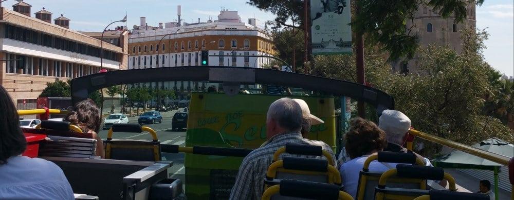 Seville: Open top bus
