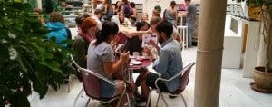 Seville: Cafe