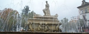 Seville: Fountain