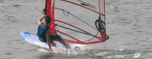 Windsurfing in Palma