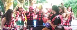 Biarritz Teens Canoeing