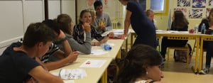 Biarritz Teens Classroom