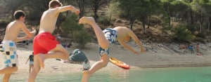 Benalmadena Teens: Diving in