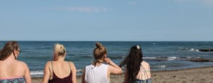 Benalmadena Teens: On the beach