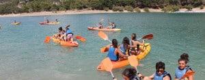 Benalmadena Teens: Kayaking