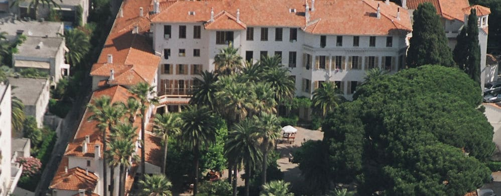 Cannes: top of campus view