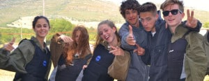 Tarifa: Students on activity afternoon