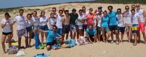 Tarifa: Spanish students in Tarifa