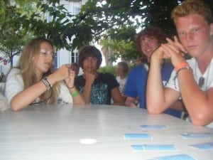 Antibes Teens: Charlotte  Playing cards