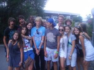 Antibes Teens: Charlotte  Group photo
