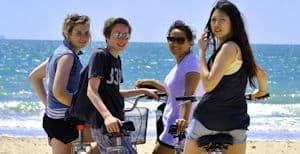 Biking in Cadiz