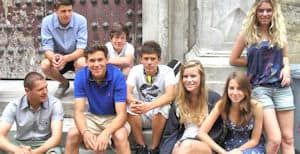 Student trip in Cadiz