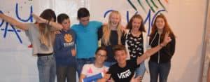 Lindau Teens: Students in the tent