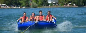 Lindau Teens: Students on the lake