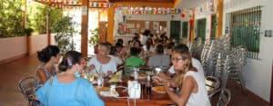 Benalmadena: Meal at Spanish school
