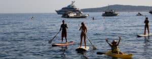 Nice: Paddle boarding