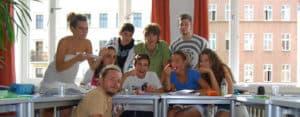 Berlin: Students in class